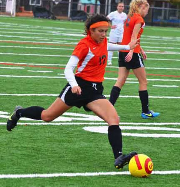 by: JOHN BREWINGTON - Ariel Viera ran her career goal total to 104 with two goals at Seaside.