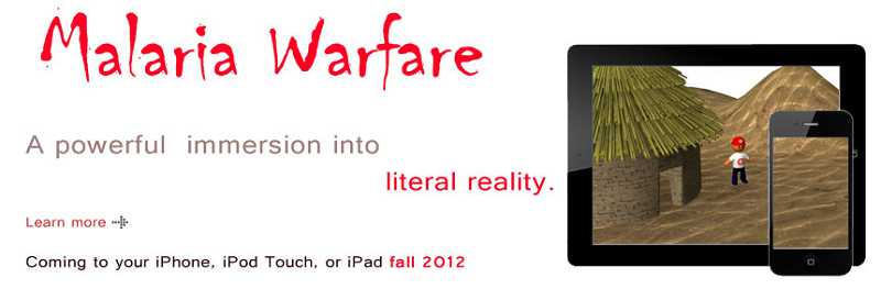 by: SUBMITTED PHOTO: SEAN KELLY - This is a screenshot of Malaria Warfare, designed by Play 4 A Cause.