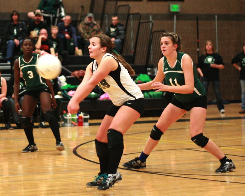 by: ESTACADA NEWS PHOTO: LOREN NIBBE - Jourdan Wenzinger, now a sophomore at Chemeketa Community College, is hoping for an opportunity to play at a four-year college next season.