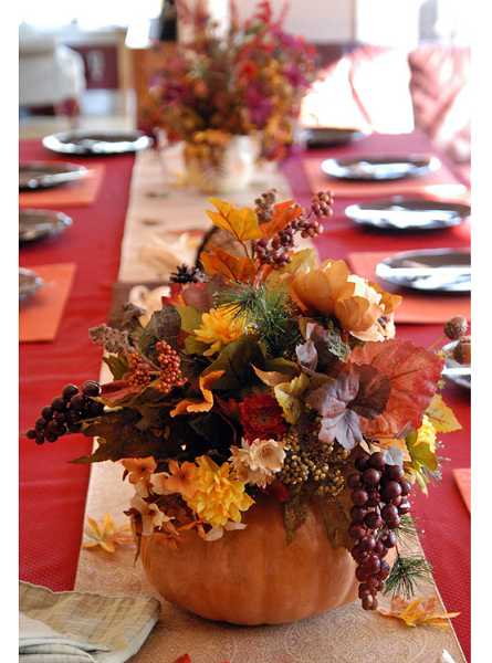 by: SUBMITTED PHOTO - Design a Thanksgiving centerpiece at the Garden Center on Nov. 11 at 1 p.m.