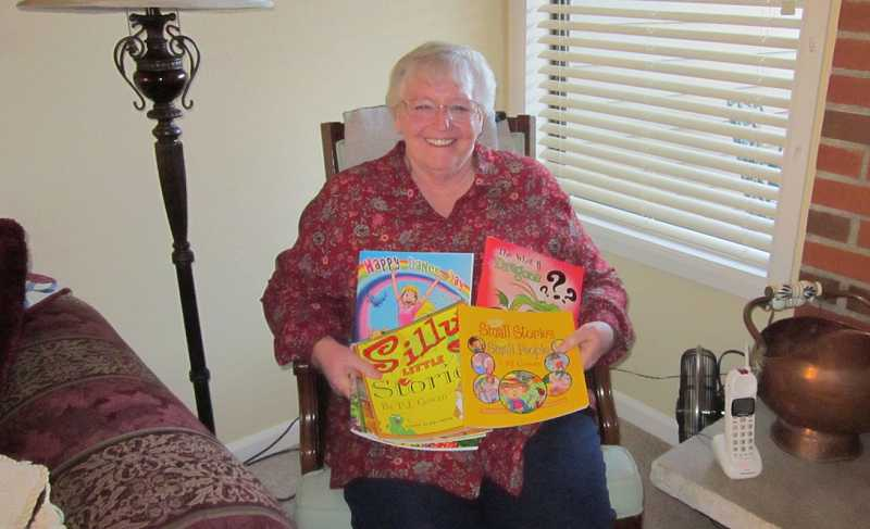 by: BARBARA SHERMAN - AUTHOR, AUTHOR - PJ Cowan creates childrens books for charity despite many hardships.