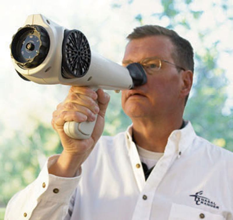 by: COURTESY PHOTO - Technicians with Recology hope to employ the Nasal Ranger, seen here in a promotional shot from the manufacturer, to sort out sents at the firms North Plains composting facility.