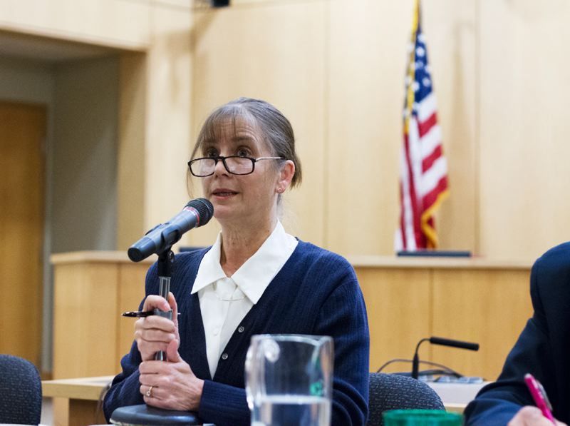 by: NEWS-TIMES PHOTO: CHASE ALLGOOD - Victoria Johnson, who served on the Forest Grove City Council in the 1990s said she Light & Power funding and public safety issues led her to run.