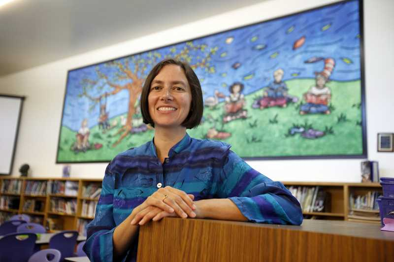 by: JONATHAN HOUSE - Oregon's 2012 District Librarian of the Year, Jenny Takeda, urges Beaverton School District leaders to restore certified librarian positions in schools.