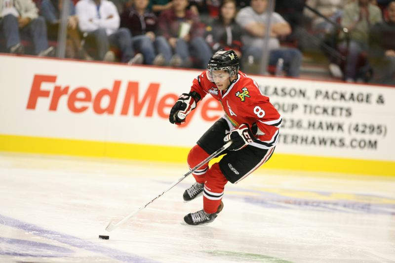 by: BRYAN HEIM - Portland Winterhawks forward Ty Rattie, the team's top scorer last season, is getting help around him up front but also from a sturdy defense this season.