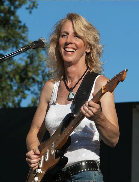 by: COURTESY OF LAURIE MORVAN - Stellar guitar player Laurie Morvan plays with her band and red-hot blues rock at Duff's Garage, Nov. 8.