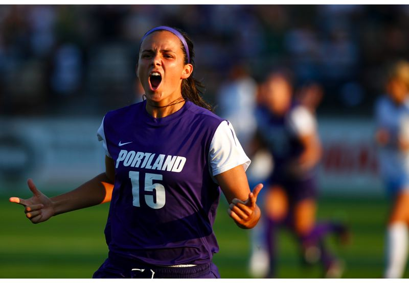 by: COURTESY OF UNIVERSITY OF PORTLAND - Amanda Frisbie leads the Portland Pilots in scoring as they head into the NCAA playoffs.