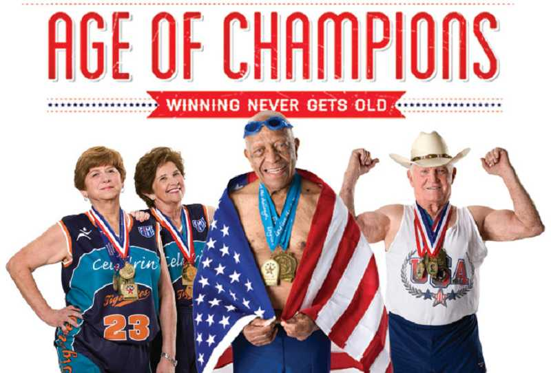 The Stafford Boutique Retirement Community will host screenings of 'Age of Champions,' an award-winning documentary of five senior competitors, each Wednesday at 2 p.m. starting Nov. 14.