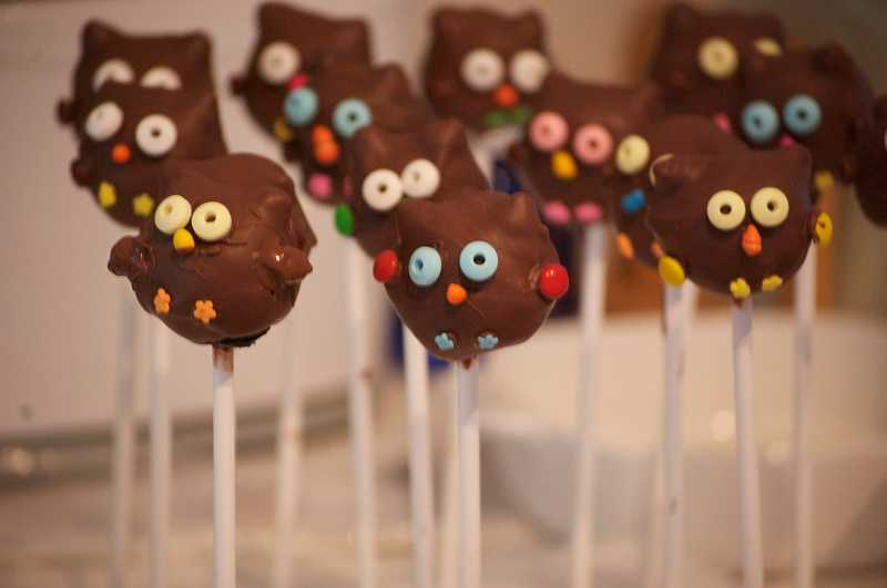 by: SUBMITTED - These are cake pops made by Anya Lehman, class of 2012, in the culinary arts class at WLHS.