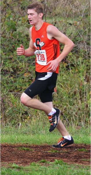 by: JOHN BREWINGTON - Dan Carrier was the top boy to finish for Scappoose.