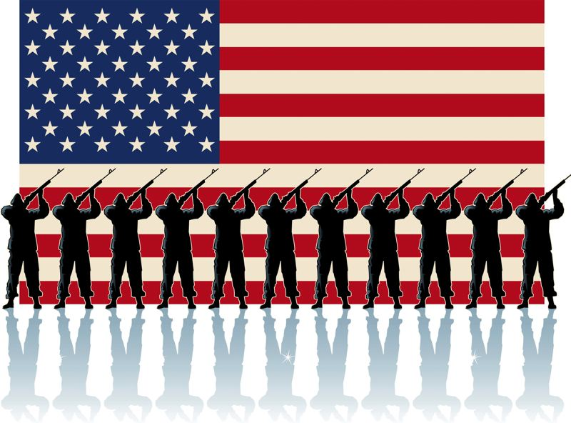 A Veterans Day ceremony will be held in Centennial Plaza Sunday, Nov. 11.
