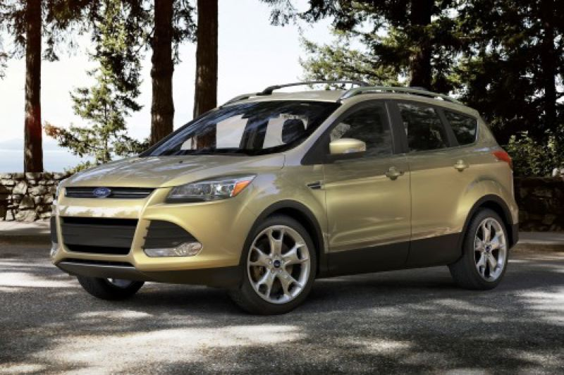 by: FORD MOTOR CO. - The all-new 2013 Ford Escape drives as good as it looks.