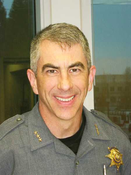 Washington County Sheriff Pat Garrett
