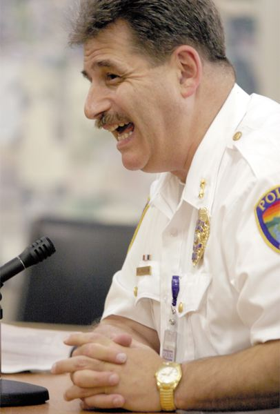 by: NEWS-TIMES FILE PHOTO - Cornelius Police Chief Paul Rubenstein is on paid administrative leave pending the outcome of an investigation into allegations of corruption in his department.