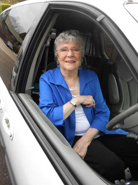 by: CLIFF NEWELL - For many years newcomers to Lake Oswego were greeted by Pat Tylman, but changing times have forced her to step down as the Welcome Lady.