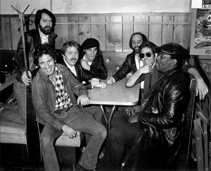 Portland resident Peter Ames Carlin's book, 'Bruce' examines the great Bruce Springsteen and the E Street Band, who hit the big-time with 'Born to Run'' album and tour in 1975. From left to right, it's Springsteen, Garry Tallent, Danny Federici, Steve Van Zandt, Roy Bittan, Max Weinberg and Clarence Clemons.