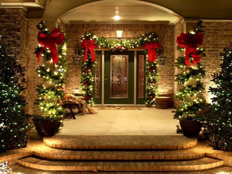 by: SUBMITTED PHOTO - Dazzle guests with a lighted entryway.