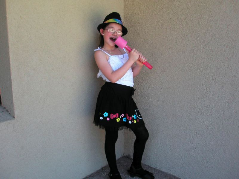 by: CONTRIBUTED PHOTO - Miranda Crockett, 10, dreamed of becoming a rock star.