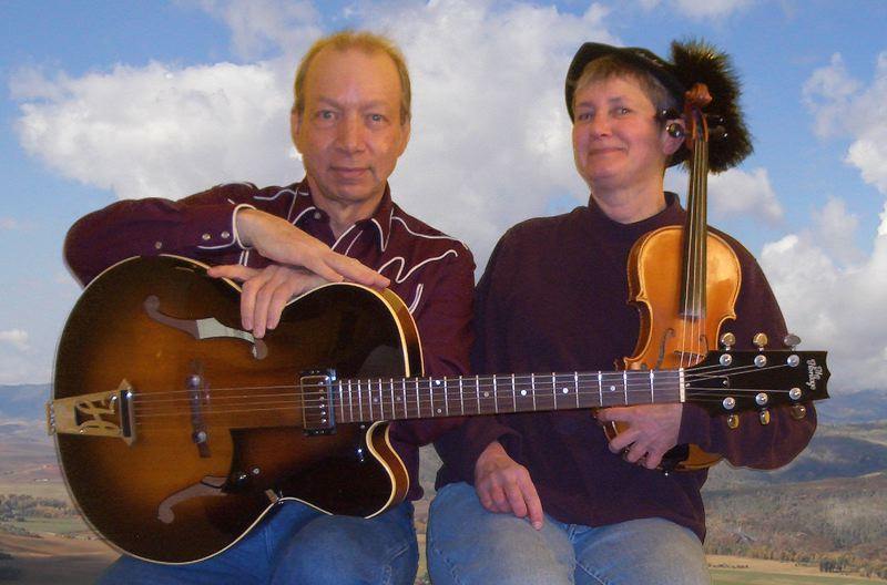 "by: CONTRIBUTED PHOTO - CONTRIBUTED PHOTO Greg McCarty and Flauren Ricketts will play at the Sandy Library€sˇÃ""ôs coffee house."