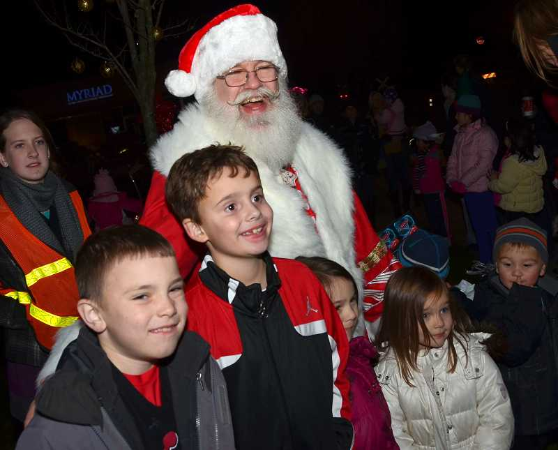 by: VERN UYETAKE - Santa will light the Christmas tree and stay for carols with Radio Disney on Nov. 30 at city hall.