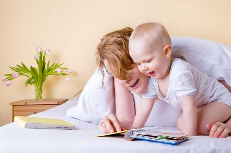 by: SUBMITTED - Reading with your baby promotes early literacy and comprehension.