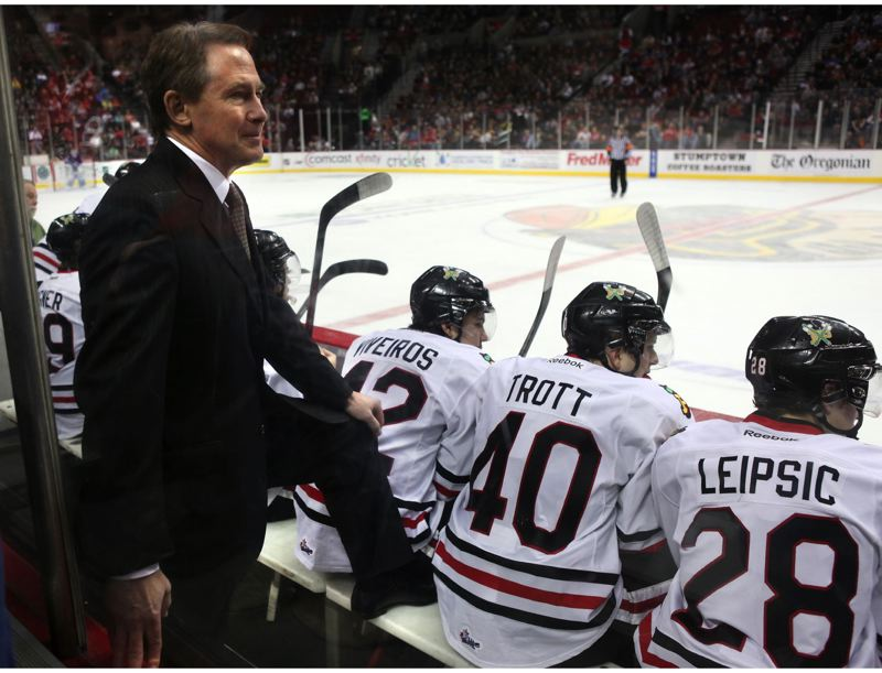 by: TRIBUNE FILE PHOTO: JAIME VALDEZ - Mike Johnston, general manager and coach of the Portland Winterhawks, has been suspended for the rest of the season by the Western Hockey League as one of the penatlies for what the WHL called 'a series of player benefit violations.'