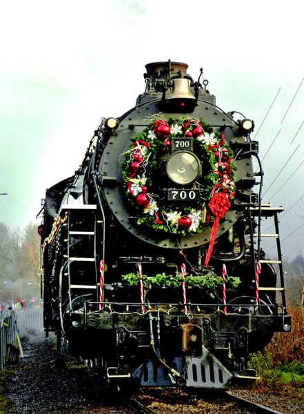 by: COURTESY OF CHRIS L. FUSSELL - The Spokane, Portland & Seattle 700 will be dressed up and ready to go for this weekend's Holiday Express rides.
