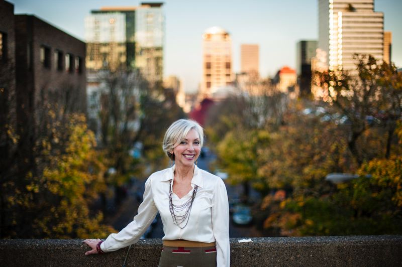 by: TRIBUNE PHOTO: CHRISTOPHER ONSTOTT - Nancy Hales has been a leading advocate for the city through First Stop Portland, a public-private partnership.