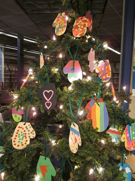 by: SUBMITTED PHOTO - Create your  own mitten tree as inspired by the book.