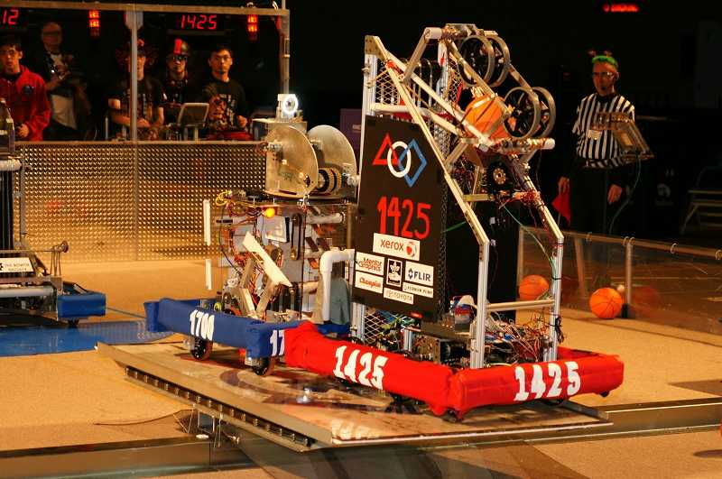 by: SUBMITTED PHOTO - The FIRST Robotics team will be at the Lake Oswego Adult Community Center computer user group meeting Dec.17