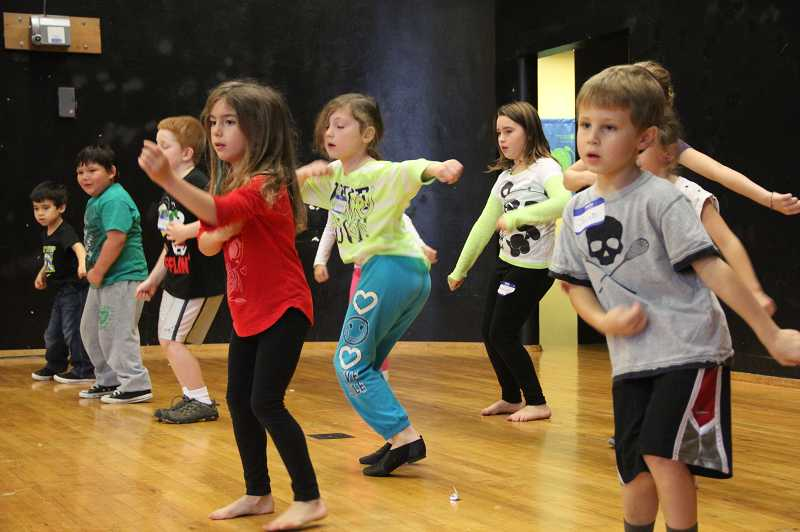 by: SUBMITTED PHOTO - A hip hop dance camp will be held at Lake Grove Elementary during winter break, taught by sisters Celeste and Charlotte Spangler.