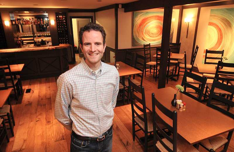 by: VERN UYETAKE - The buck stops at Babica Hen Cafe when it comes to a great breakfast. Owner Joe Buck is ready to welcome waffle lovers and other food lovers to his new restaurant.