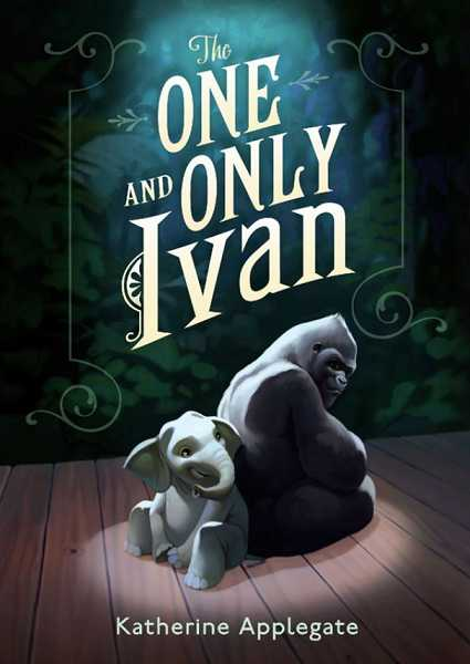 by: SUBMITTED - 'The One and Only Ivan' is one of 10 books you can vote for in the library's mock Newbery awards contest.