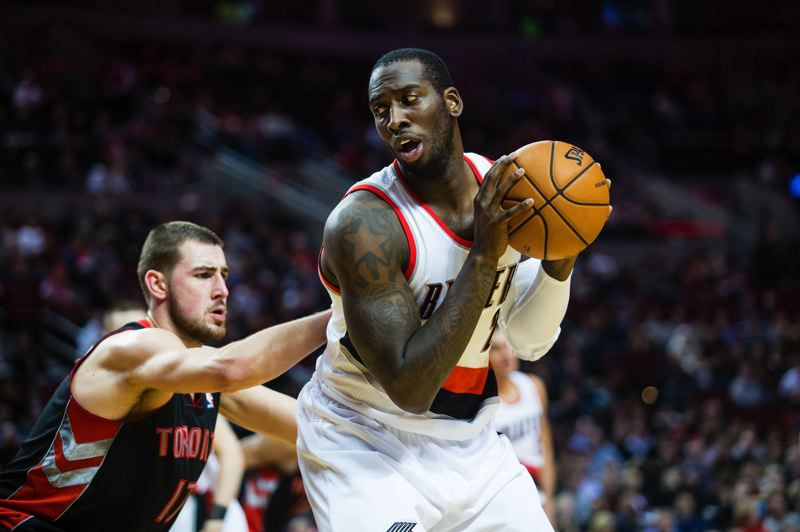 by: TRIBUNE PHOTO: CHRISTOPHER ONSTOTT - Blazers center J.J. Hickson doesn't get his number called often on offense, but he is averaging 11 points a game mostly from hustle plays, in a highly efficient 28 minutes per outing.