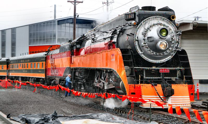 by: DAVID F. ASHTON - This train is ready to delight Holiday Express riders.