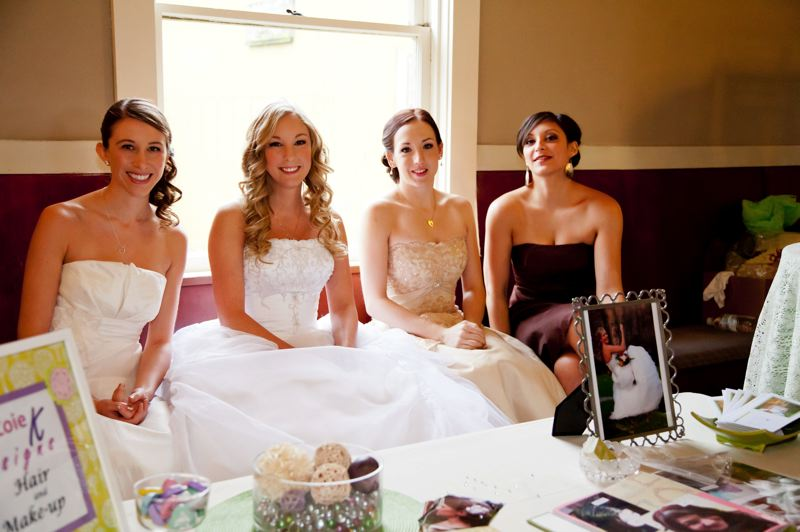 by: CONTRIBUTED PHOTO: BECKY NERPEL, STUDIO 623 PHOTOGRAPHY - A Country Bridal Affair's fashion show will feature vintage and country-style wedding gowns, including those custom designed by Welches resident Cindy Boggs.