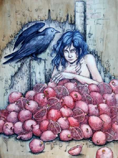 by: SUBMITTED PHOTO  - Dana Rost's piece, 'Pomegranate.'