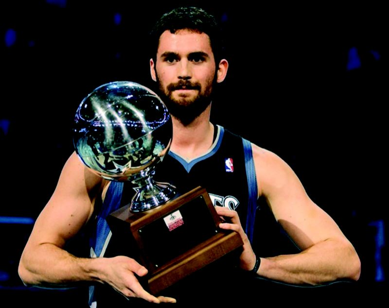 by: COURTESY OF KEVIN LOVE - Kevin Love, the former Lake Oswego High star, is near the top of the NBA both as a player and as a quote.