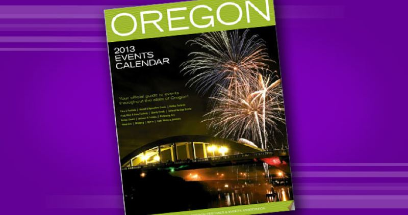 by: SUBMITTED - Oregon Events Calendar -2013