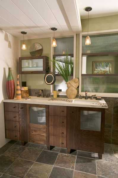 by: SUBMITTED PHOTO  - Create the perfect oasis in your bathroom.