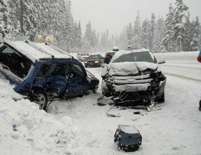 by: OREGON STATE POLICE - A 20-year-old man from West Linn died in an accident Sunday near Mount Hood.