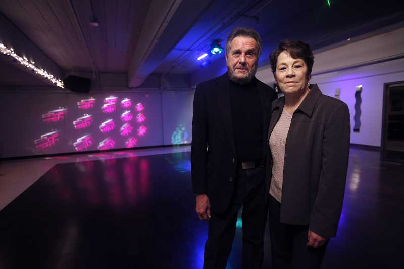by: TIMES PHOTO: JONATHAN HOUSE - Lynn and Roberta McKinney have started Retro Rhythm, an evening spot for the over-40 crowd in Cedar Hills.