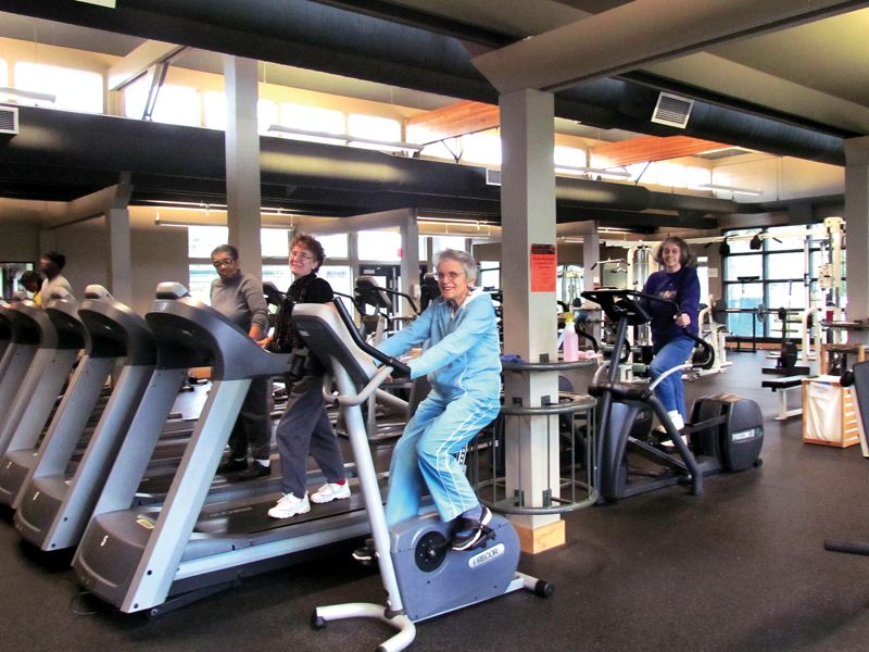 by: KAY-LANI MUNRO/PORTLAND PARKS & RECREATION - Seniors can sample a variety of health and fitness activities at Portland Parks & Recreations Charles Jordan Community Center this winter if they buy a Senior Active Pass, available to ages 60 and older.