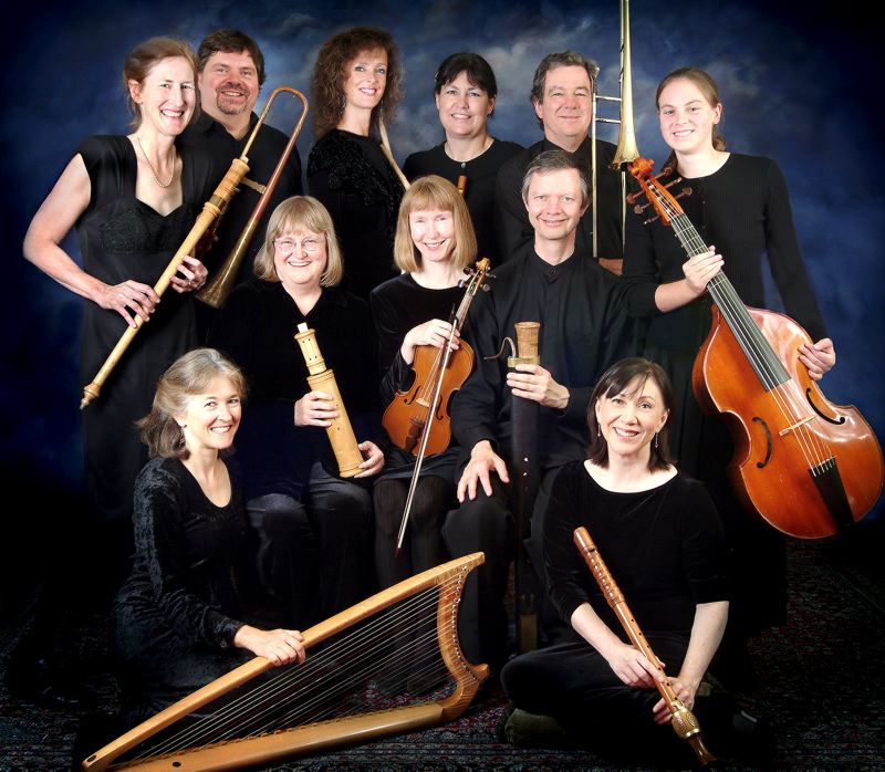 by: COURTESY OF THE OREGON RENAISSANCE BAND - The Oregon Renaissance Band performs a selection of Christmas and New Year's music by 16th and 17th century composers for early instruments and voices, Sunday at the St. Aidan Episcopal Church.