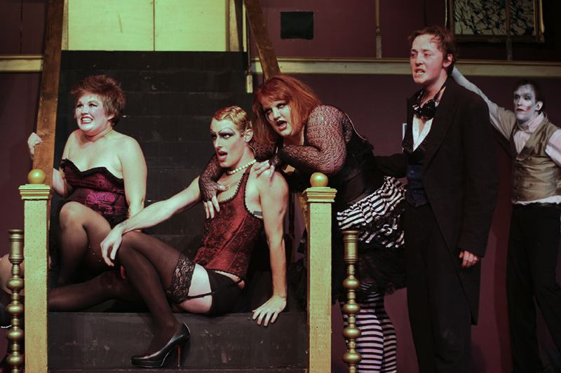 by: COURTESY - Theatre in the Grove's Rocky Horror Show.
