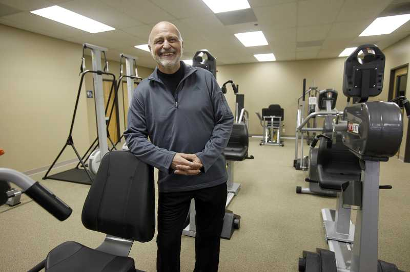 by: JONATHAN HOUSE - Gary Jelinek, 65, helped open Beyond 50 Fitness off Hall Boulevard. The gym, which opened three weeks ago, is meant to be a home for Baby Boomers looking to get back to the gym.