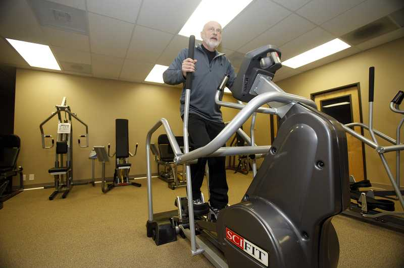by: JONATHAN HOUSE - Clients at Beyond 50 Fitness often visit every day. The gyms low-impact workout can be accomplished in about half-an-hour, said gym coordinator Gary Jelinek