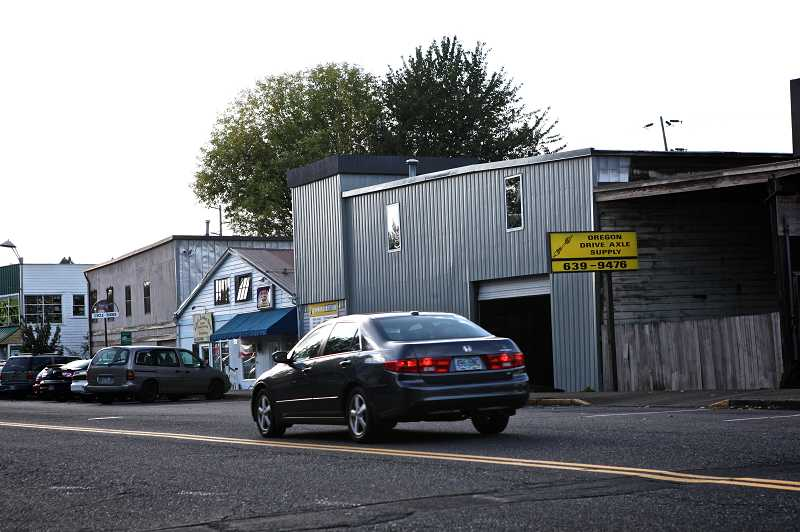 by: JAIME VALDEZ - In 2012 the city purchased three buildings near Fanno Creek on Southwest Main Street. Redeveloping the three sites are part of a series of improvements meant to bring more people to Tigard's downtown.