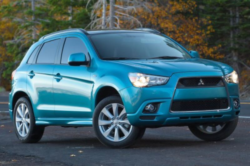 by: MITSUBISHI MOTOR SALES OF AMERICA - Restyled 2013 Mitsubishi Outlander Sport is one of the most affordable compact crossovers on the market.