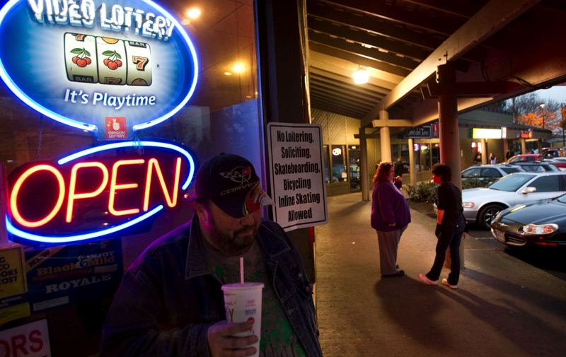 by: PHOTO BY: CHRISTOPHER ONSTOTT  - Dotty's helped create a niche of small 'lottery cafes' in Oregon that make their money from gamblers playing Oregon State Lottery games. Each site hosts six video lottery terminals, similar to casino slot machines.